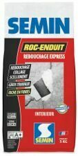 Enduit de rebouchage express intérieur ROC ENDUIT - sac de 5kg - Gedimat.fr