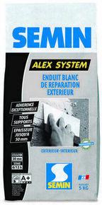 Enduit de réparation ALEX SYSTEM - sac de 5 kg - Gedimat.fr