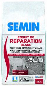 Enduit de réparation blanc - sac de 5kg - Gedimat.fr