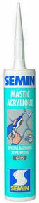 Mastic acrylique gris - tube de 310ml - Gedimat.fr