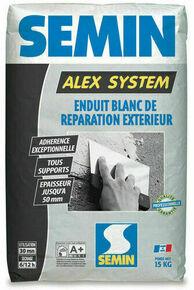 Enduit de réparation ALEX SYSTEM - sac de 15kg - Gedimat.fr