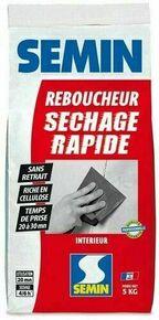Enduit de rebouchage SECHAGE RAPIDE - sac de 5kg - Gedimat.fr