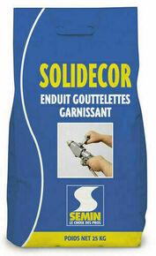 Enduit décoratif SOLIDECOR garnissant teinté SP- sac de 25kg - Gedimat.fr
