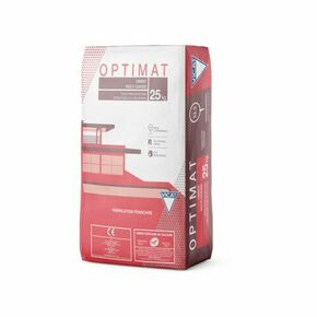 Ciment OPTIMAT CEM II/B-LL 32,5 R CE NF - sac de 25kg - Gedimat.fr