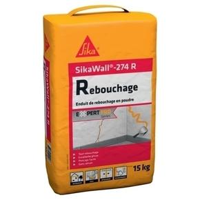 Enduit de rebouchage à base de plâtre SikaWall 274R - sac de 20kgs - Gedimat.fr