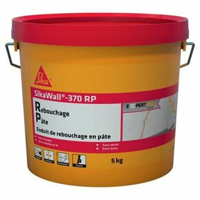 Enduit de rebouchage en pâte prête à l'emploi SikaWall 370RP - sac de 5kgs - Gedimat.fr