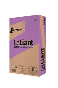 Ciment LE LIANT CEM II/B-ll 32,5 R CE NF - sac de 35kg - Gedimat.fr