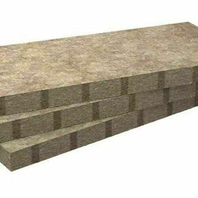 Laine de roche ROCKCOMBLE non revêtue - 1,35x0,565m Ep.80mm - R=2,40m².K/W. - Gedimat.fr