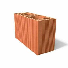 Brique double poteau 15 - 540x300x314mm - Gedimat.fr