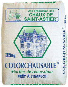 mortier de fa ade colorchausable sac 35kg. Black Bedroom Furniture Sets. Home Design Ideas