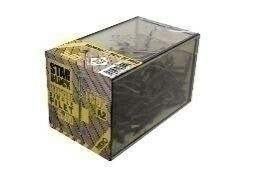 Vis terrasse inox A2 simple filet - 5x50mm - boîte de 200 pièces - Gedimat.fr