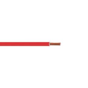 Câble électrique unifilaire cuivre H07VU section 6mm² coloris rouge en bobine de 10m - Gedimat.fr
