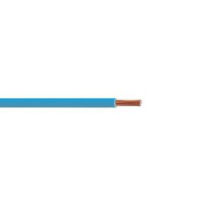 Câble électrique unifilaire cuivre H07VU section 6mm² coloris bleu en bobine de 10m - Gedimat.fr