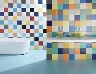 Carrelage pour mur en faïence coloris dim.20x20cm coloris mar - Gedimat.fr