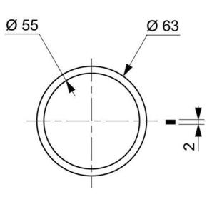 Joint de culot pour siphon diam.32mm et diam.40mm - Gedimat.fr