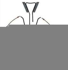 Clips S pour maintien des couvre-joints TOFFOLO de dilatation dont la largeur initiale est comprise entre 15 et 35mm - Gedimat.fr