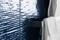 Carrelage pour mur en faïence WALL GLOSSY larg.25cm long.46 cm coloris ocean - Gedimat.fr