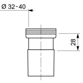 Raccord à ecrou laiton diam.40mm - Gedimat.fr