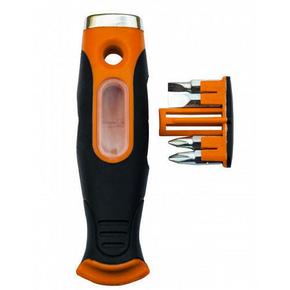 Couteau à enduire Américain avec 4 embouts de vissage amovibles - 10cm - Gedimat.fr