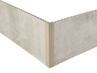 Profil PVC angle intérieur et extérieur clipsable ép.5 à 8 mm long.2,60m coton - Gedimat.fr