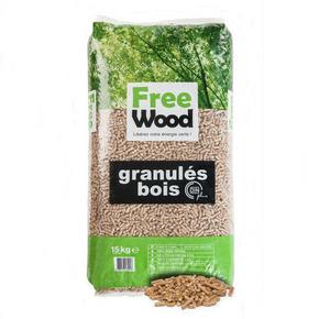 Granulés de bois pour poêle à pellets sac de 15kg - Gedimat.fr