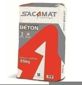 Béton prêt à l'emploi WEBER.BETON sac de 35kg - Gedimat.fr