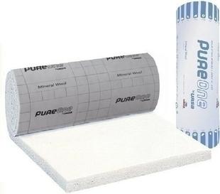 Laine de verre PURE 35 QP revêtue kraft - 3,2x1,2m Ep.200mm - R=5,70m².K/W. - Gedimat.fr