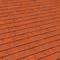 Rive individuelle droite PLATE 17x27 coloris rouge nuance - Gedimat.fr