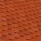 Tuile et 1/2 gauche ALSACE LISSE 16x38 gauche coloris rouge - Gedimat.fr