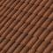 Rive individuelle verticale à emboîtement gauche grand rabat coloris brun rustique - Gedimat.fr