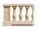 Balustre AZAY CLASSIQUE ronde haut.59cm diamètre 16cm coloris blanc cassé - Gedimat.fr