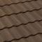 Tuile terre cuite FRANCHE-COMTE coloris brun masse - Gedimat.fr