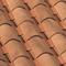 Tuile en terre cuite CANAL 40 et POSIFIX 40 coloris valmagne cuivre - Gedimat.fr
