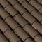 Tuile en terre cuite CANAL MIDI et POSIFIX MIDI coloris brun - Gedimat.fr