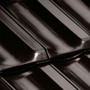 Tuile PANNE H2 HUGUENOT coloris noir brillant - Gedimat.fr