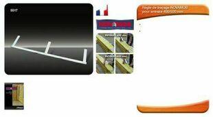 Règle de traçage acier - Gedimat.fr