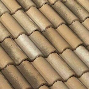 Tuile à douille DUROVENT PLEIN CIEL dune sable - PC045 - Gedimat.fr