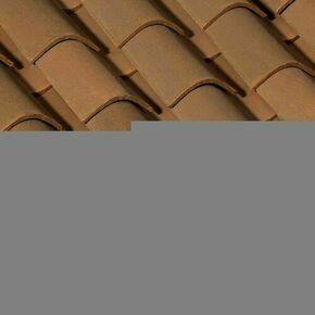 Fronton de rive décoratif coloris brun rustique - Gedimat.fr
