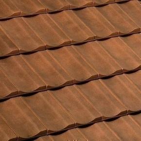 Demi-tuile terre cuite FRANCHE-COMTE coloris brun vieilli nouveau - Gedimat.fr