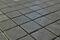Emaux de verre de 2,5x2,5cm antidérapant NATUREGLASS sur trame de 31,1x31,1cm coloris dark grey - Gedimat.fr