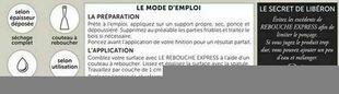 Rebouche express blanc  - pot 0,500l - Gedimat.fr