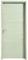 Bloc-porte FUJI haut.2,04m larg.73cm gauche poussant revêtu mélaminé finition frêne blanc - Gedimat.fr
