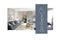 Bloc-porte rainuré KAIRN huisserie Néolys 90x49mm à recouvrement haut.204cm larg.93cm droit poussant - Gedimat.fr