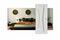 Bloc-porte alvéolaire rainuré KAORI prépeint à recouvrement H.Néolys 90x49mm droit poussant - 204x73cm - serrure PDDT - Gedimat.fr