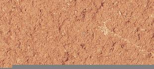 Enduit de parement minéral manuel épais à la chaux aérienne WEBER.CAL PG sac 25 kg Rouge tuile teinte 106 - Gedimat.fr