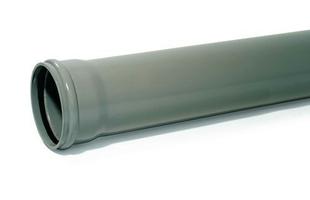 Tube en PVC assainissement CR8 diam.160mm long.3m - Gedimat.fr