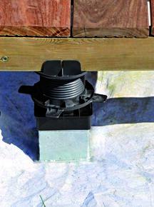 Support réglable pour pieux métallique ou d'ancrage - Gedimat.fr