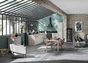Carrelage pour mur en faïence brillante MAIOLICA dim.20x20cm coloris nero - Gedimat.fr