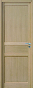 Bloc-porte JADE huisserie 72x46mm en MDF enrobé placage chêne brut 1er choix haut.204cm larg.73cm droit poussant - Gedimat.fr