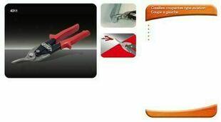 Cisaille coupante Aviation coupe à gauche - Gedimat.fr
